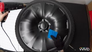VVIVID Vinyl - How To Vinyl Wrap Car Rims