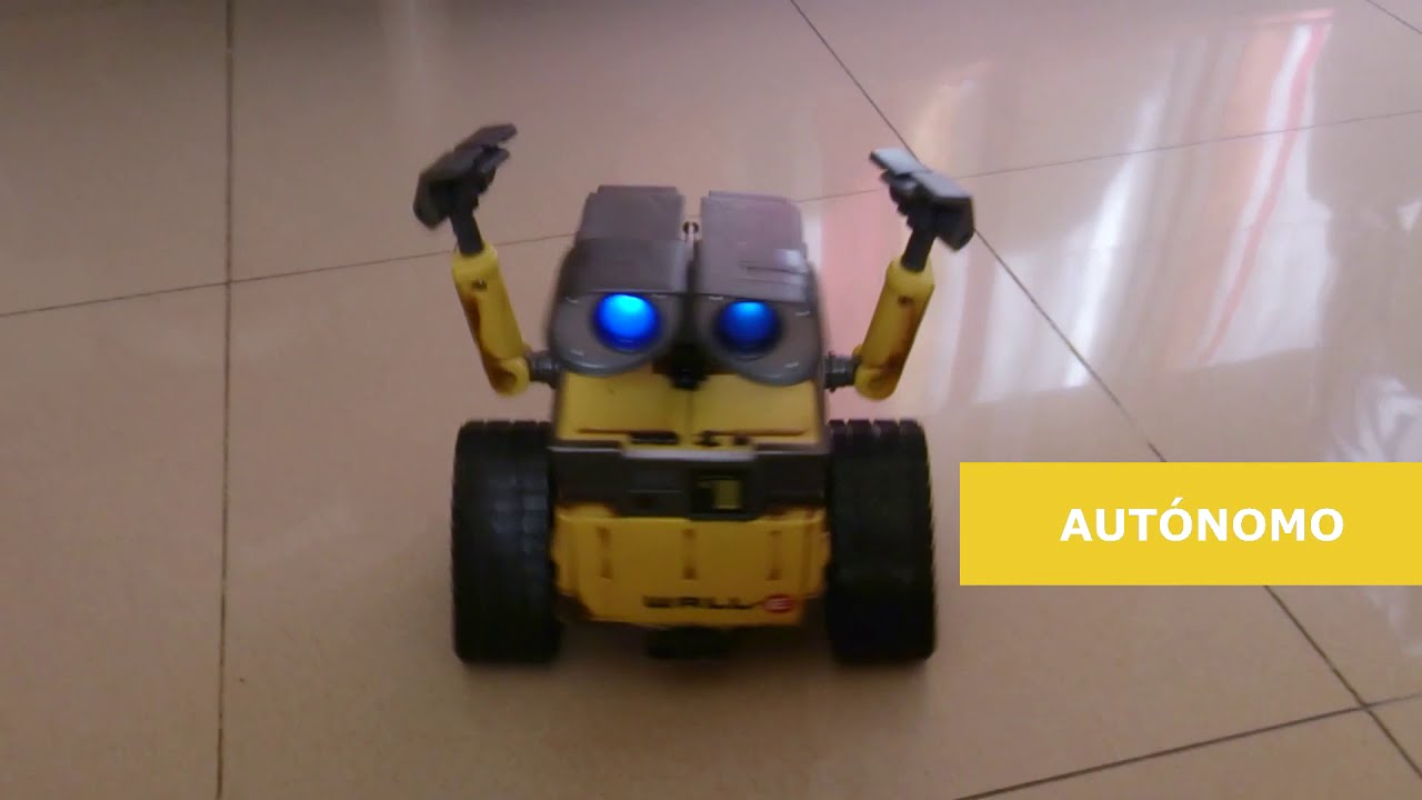 Wall e robot arduino diymakers youtube
