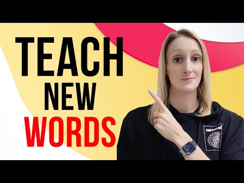 Teaching Vocabulary Activities For Young ESL Kids
