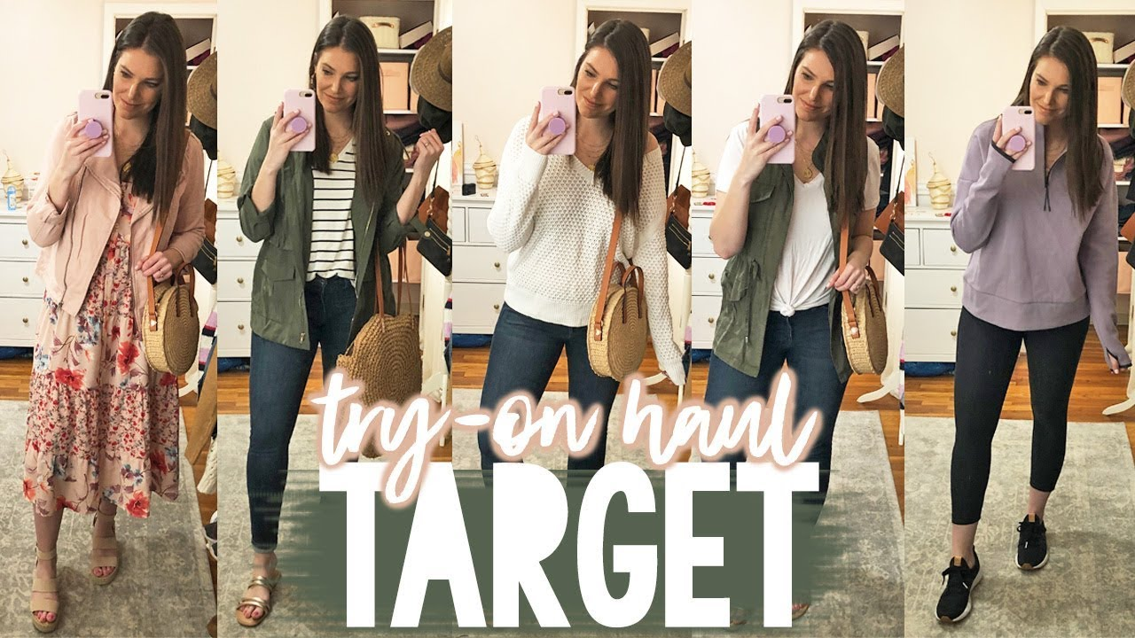 TARGET TRY-ON HAUL -- SPRING OUTFITS | Sarah Brithinee 8