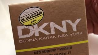 DKNY BE DELICIOUS - Ladies perfume Unboxing