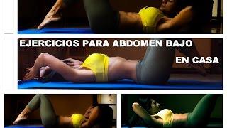 Ejercicios Para Abdomen Bajo - Abdominales en 10 minutos -  (Rutina 186) - Dey Palencia Reyes