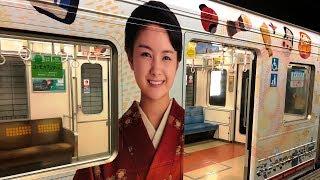 大阪市営地下鉄堺筋線66系の66607編成に、NHK連続テレビ小説「わろてん...