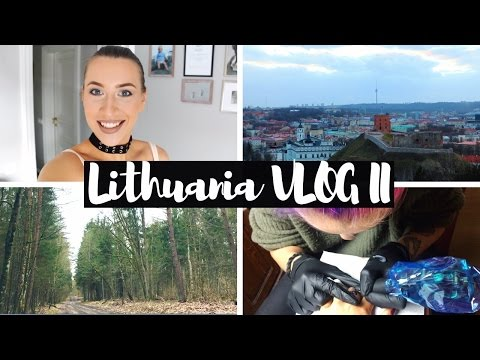 Getting NEW TATTOO, Surgery FEAR and PAIN | Lithuania VLOG Part II | Greta Tigras