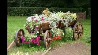 видео Деревенский стиль в ландшафтном дизайне