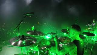 In Flames- Monsters In The Ballroom (Drum Cam)