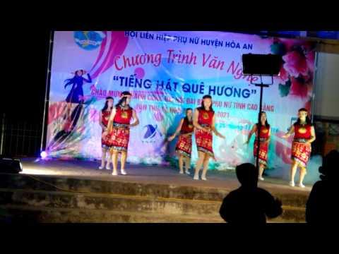 Mua tieng dan ta lu chao mung thanh cong dai hoi phu nu tinh cao bang