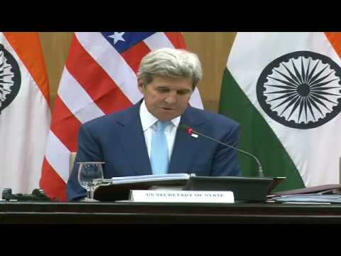 Joint Press Interaction- Visit of Secretary of State of The United States of America to India