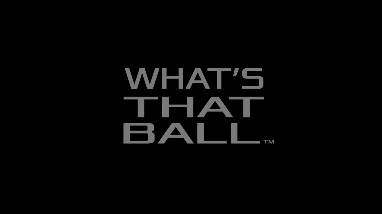 What's That Ball Podcast Logo Intro