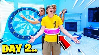 DUCK TAPED TO MY FRIENDS FOR 24 HOURS!
