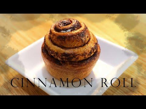 Cinnamon roll with Yudane (ซินนามอนโรลสูตรยูดาเนะ)