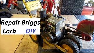 Briggs Carb repair step by step