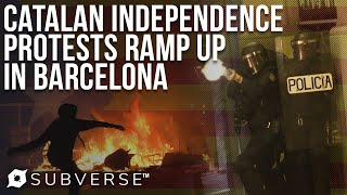 """Political Prisoners"" Spark New Protests in Barcelona 