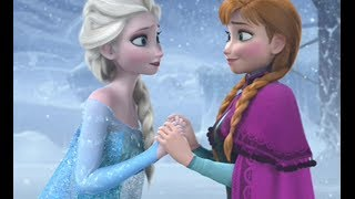 FROZEN Anna Elsa Sisters Love Tribute Disney Part 1 - A Thousand Years Christina Perri