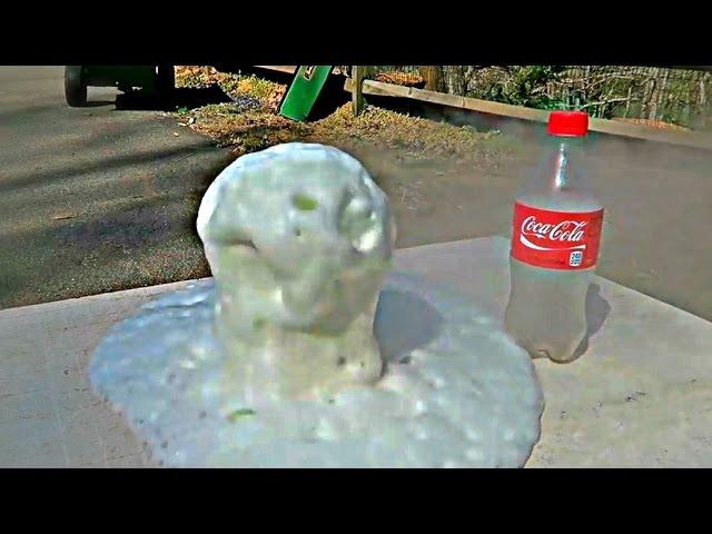 8 Amazing Coke Science Experiments - Compilation