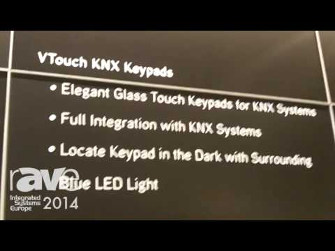 ISE 2014: Vitrea Exhibits VTouch Plus and VTouch KNX Keypads