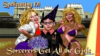 Spellcasting 101 gameplay (PC Game, 1990)