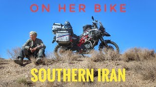 Southern Iran. On Her Bike Around the World. Episode 11.