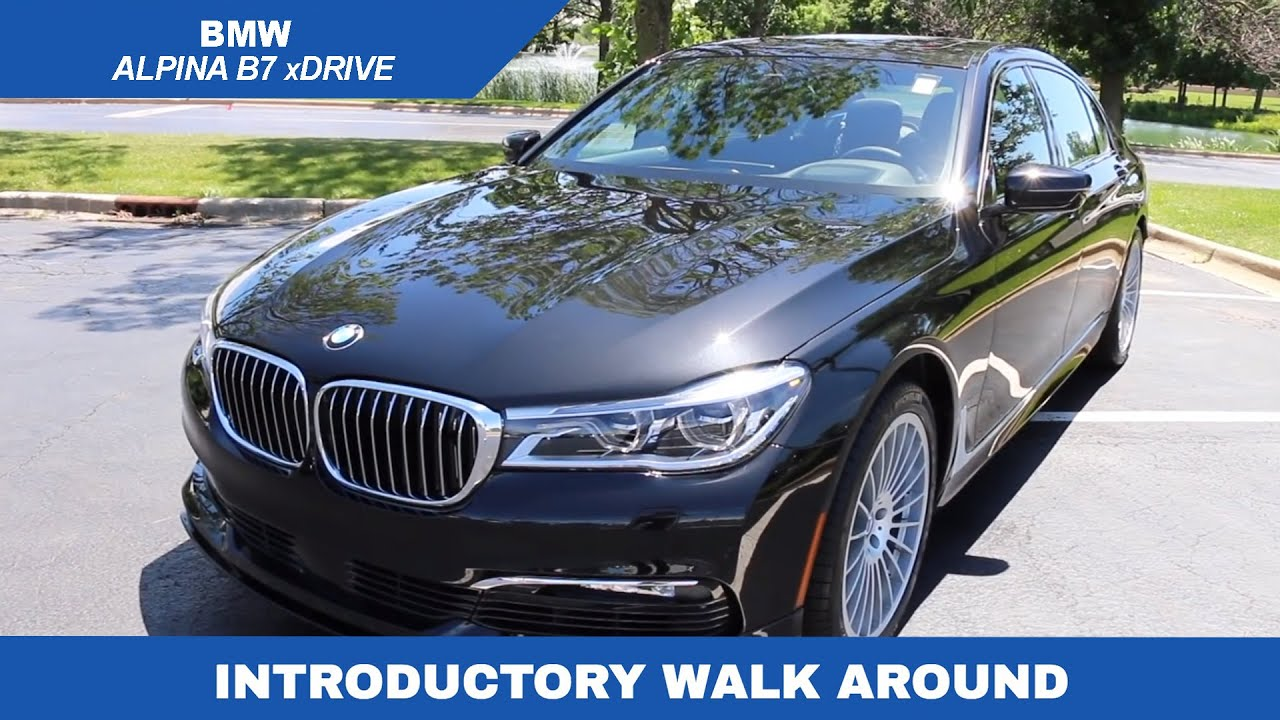2018 Bmw Alpina B7 Xdrive Walkaround Youtube