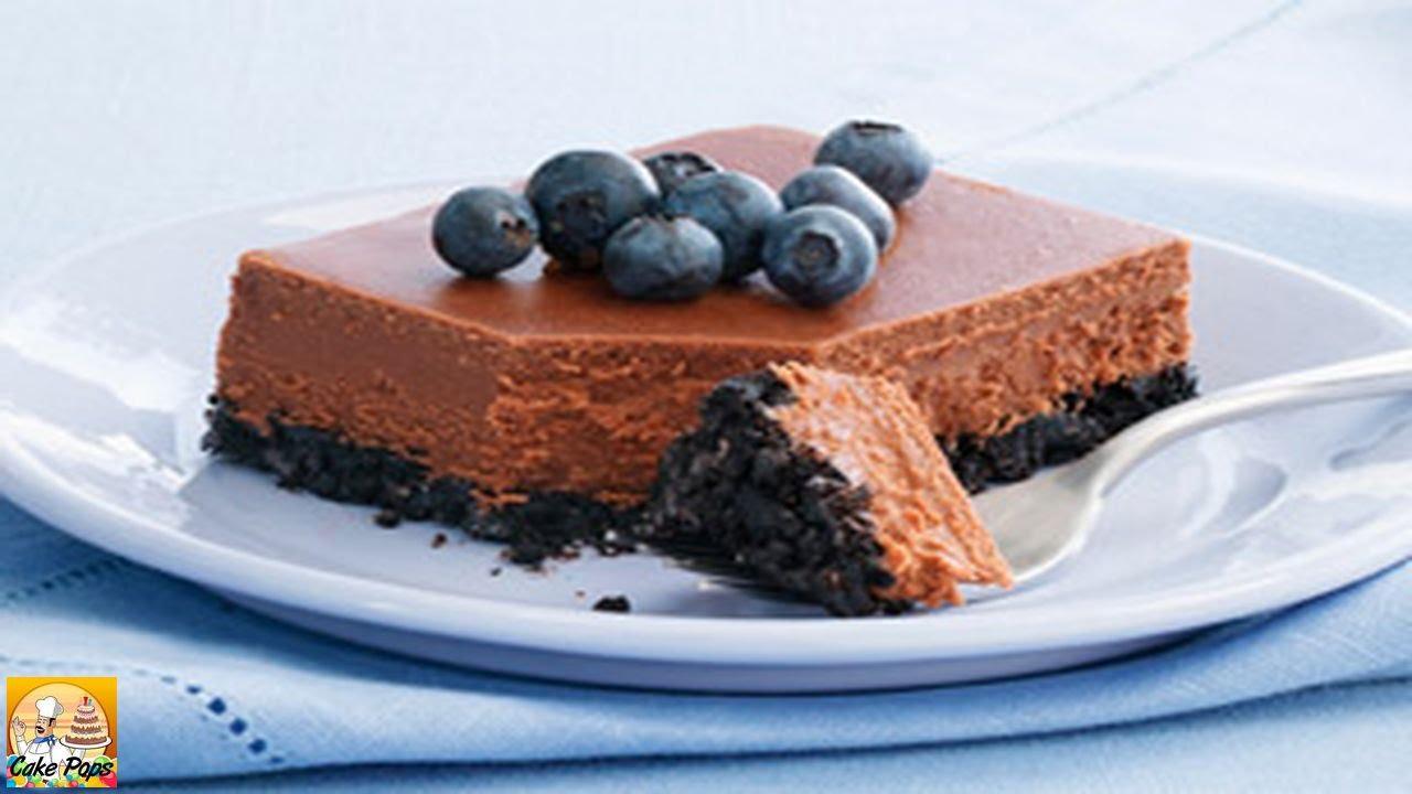 PHILADELPHIA Double Chocolate Cheesecake - YouTube