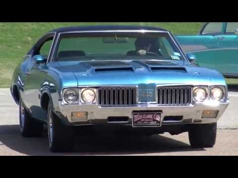 Road Test & Tour : 1970 Oldsmobile W-30 442 Ram Air 455 American Muscle Car