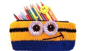 Video Örgü Kalemlik Yapımı - Crochet Minion Pencil Case download MP3, 3GP, MP4, WEBM, AVI, FLV Desember 2017