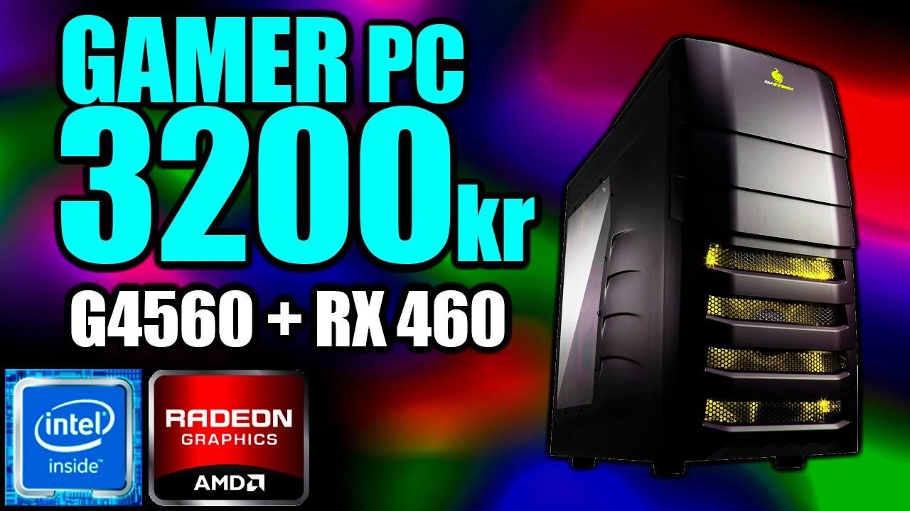 Byg En Billig Gamer Pc Til Kun 3200kr Pentium G4560rx 4608gb