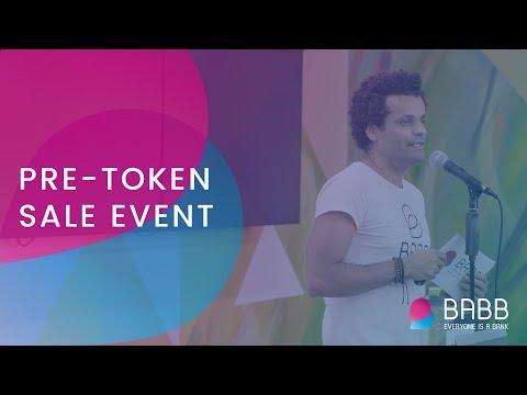 BABB Bank Pre-Sale ICO Event - Speech