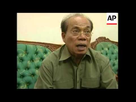 President's envoy comments before leaving for Nias