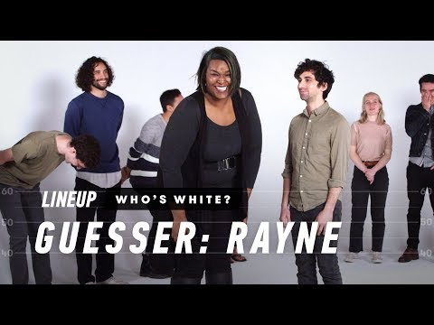 People Guess Who is White In a Group of People (Rayne) | Lineup | Cut