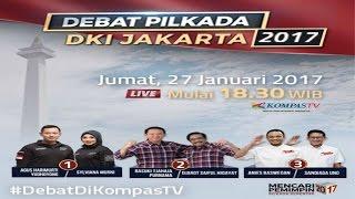Video LIVE DEBAT PILKADA DKI JAKARTA 2017 via KOMPASTV download MP3, 3GP, MP4, WEBM, AVI, FLV November 2017