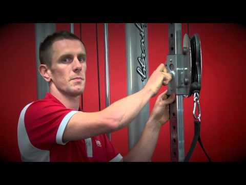 Jetts Fitness Australia: Cable Crossover