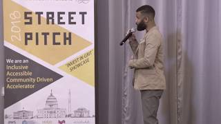 Christopher King at Street Pitch 2018