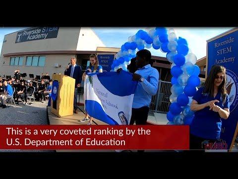 Riverside STEM Academy gets National Blue Ribbon