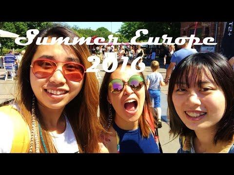Summer Europe Trip 2016 w/ bloopers (London, Amsterdam, Brussels, Paris, Avignon, Nice, Belfast)