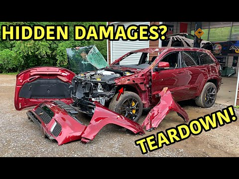 Rebuilding A Wrecked 2018 Jeep Trackhawk Part 4