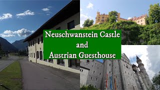 Castles in Germany and Zimmers in the Austrian Alps