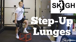 Step-Up Lunge [SKIGH Training EP. 16]