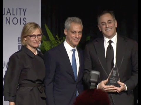 Equality Illinois 2015 Gala  Mayor Emanuel and Michael J. Sacks