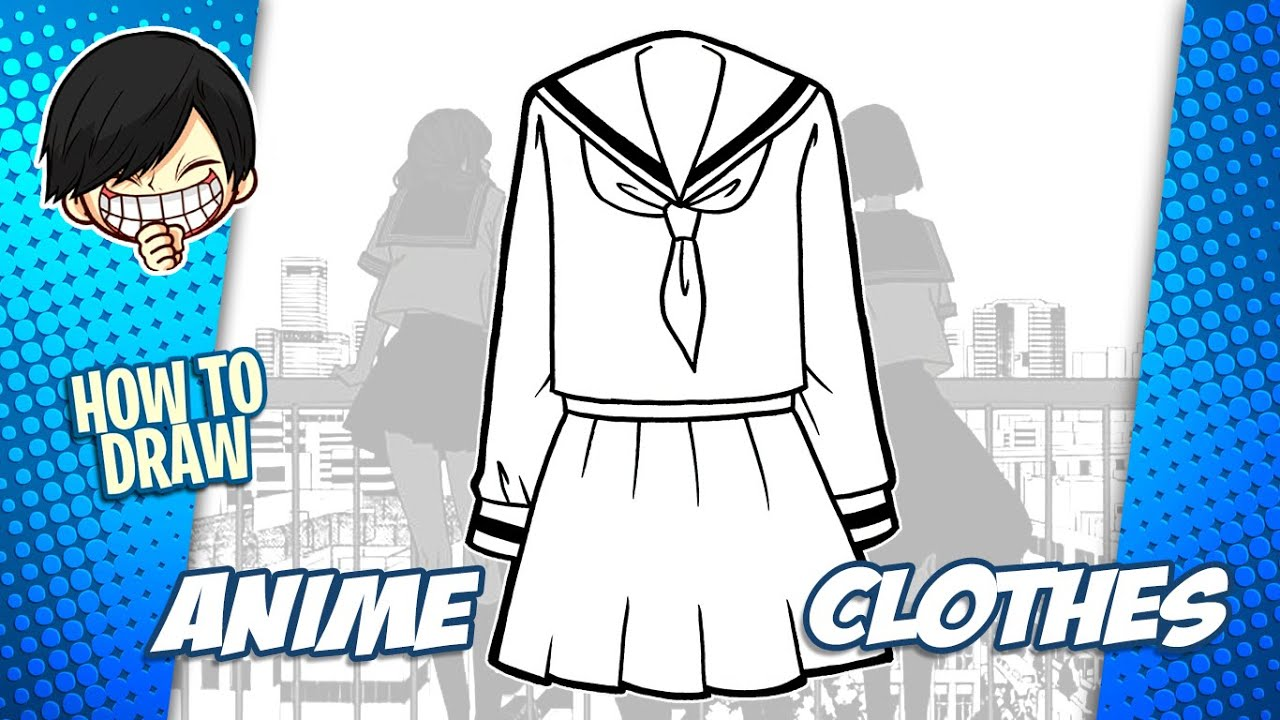 Download How to draw Anime Clothes step by step