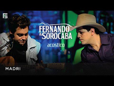 Fernando & Sorocaba - Madri  DVD Acústico