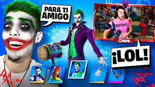 ¡¡LE REGALO EL JOKER *SKIN EXCLUSIVA* a GREFG por SORPRESA!! - Agustin51