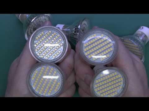 Failed GU10 Led Lamps