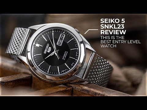 This Is The Best Entry Level Watch! - Are Cheap Watches Worth It? - The Seiko 5 SNKL23 Review