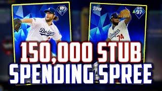 WE HIT 50,000 SUBSCRIBERS! 150,000 STUB SPENDING SPREE! MLB The Show 17   Diamond Dynasty thumbnail