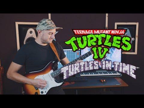 Teenage Mutant Ninja Turtles IV - Turtles In Time (SNES) Big Apple 3 AM Cover