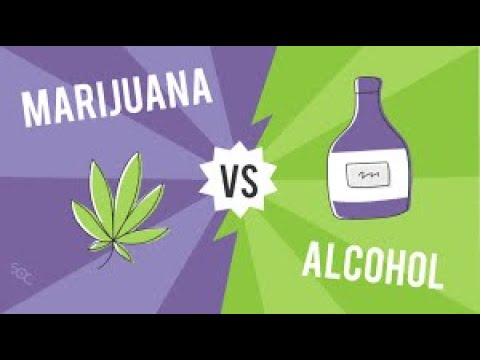 DRINKING ALCOHOL VS SMOKING WEED.WATCH.
