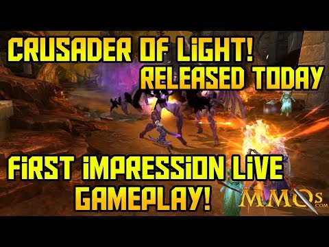 First Impressions with Live Gameplay - Crusaders of Light! Released Today! iOS