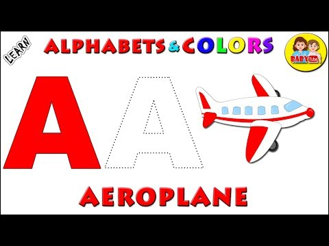 Learn Alphabets for Kids with Phonics | Letter A to Z | How to Write Alphabets