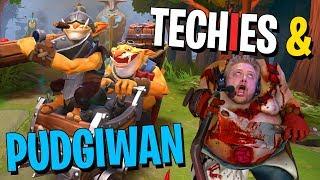 Techies & Pudgiwan - DotA 2